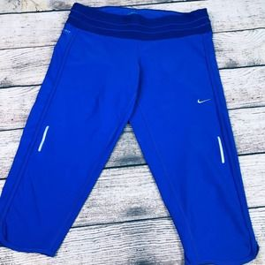 Nike Dri-Fit Crop Running Pant size L